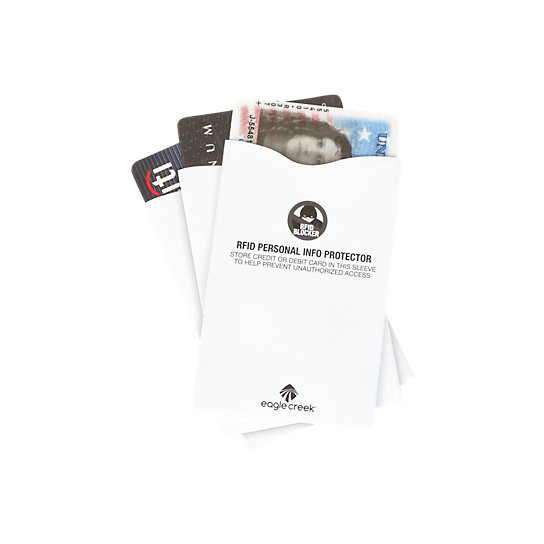 Image for RFID Blocker Sleeves from EagleCreek United States