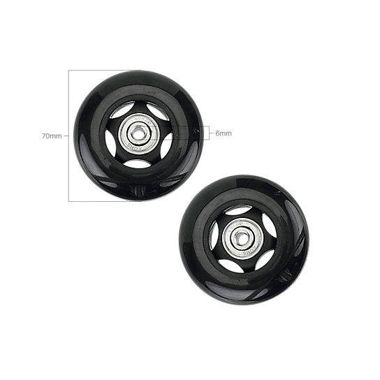 Image for 70MM WHEEL SET-6MM BEARINGS from EagleCreek United States