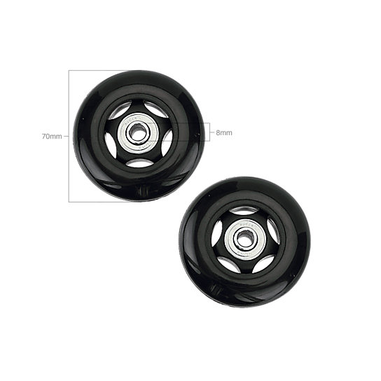 Image for 70 MM WHEEL SET-8MM BEARINGS from EagleCreek United States