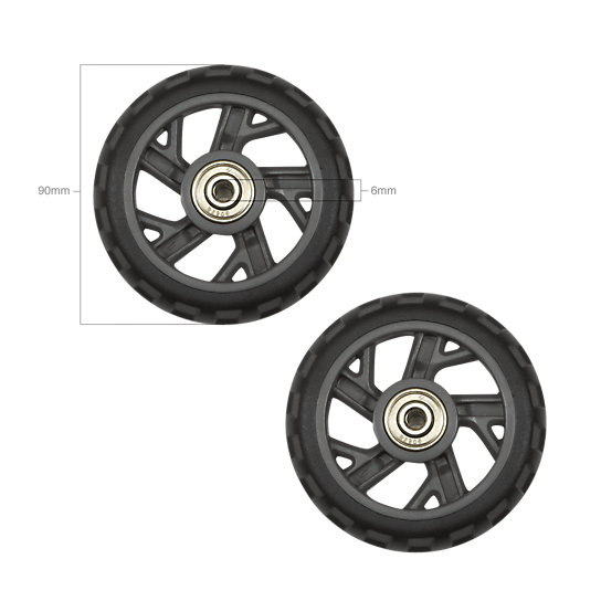 Image for 90 MM WHEEL SET-6 MM BEARINGS from EagleCreek United States