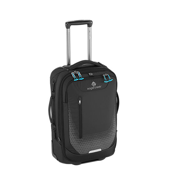 This lightweight international carry-on is perfect for a quick adventure or the minimalist packer. The durable scuff resistant fabric can withstand decades of abuse, while an expansion zipper and external lash points offer more carrying capacity for when you might need to pack additional items. The heavy-duty wheels and wheel housing are ready to roll over hundreds of miles so you can travel thousands.