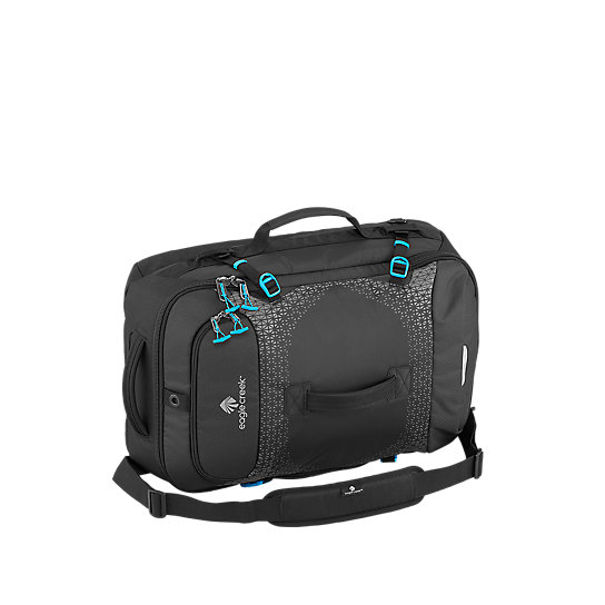 Whether you are exploring the European countryside or a capital city, the Expanse Hauler is a versatile carry-on that makes a great companion for all your destinations. With zip-away backpack straps and a removable shoulder strap, the pack easily converts from a backpack to duffel. The top, side and front grab handles allows you to grab and go quickly, and with smart organization features throughout the bag, you\\\'ll be traveling with ease.