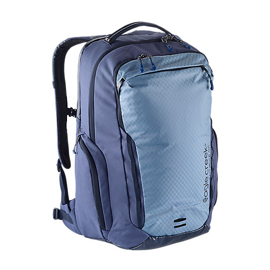 The Wayfinder Backpack 40L W was designed to hold all of your belongings so you can pick up and go at a moment\\\'s notice. It enables you to connect to your world while exploring another. With pockets for every gadget, you have everything you need for every situation. Comes in blue, gray, and black.