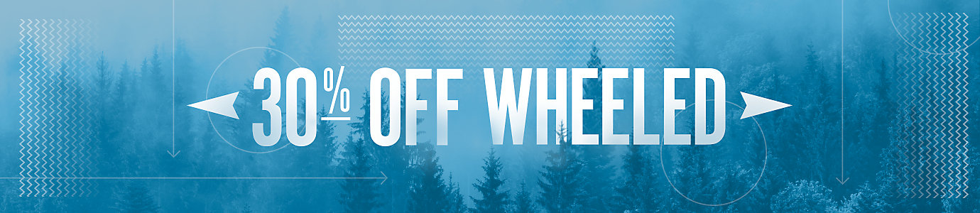 30% Off WHEELED