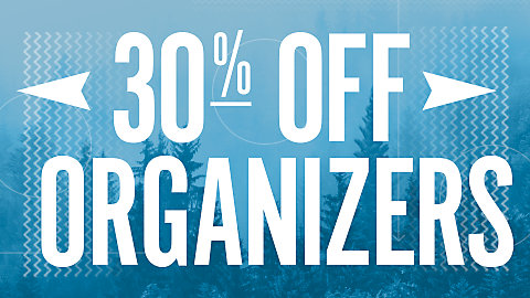 30% Off ORGANIZERS