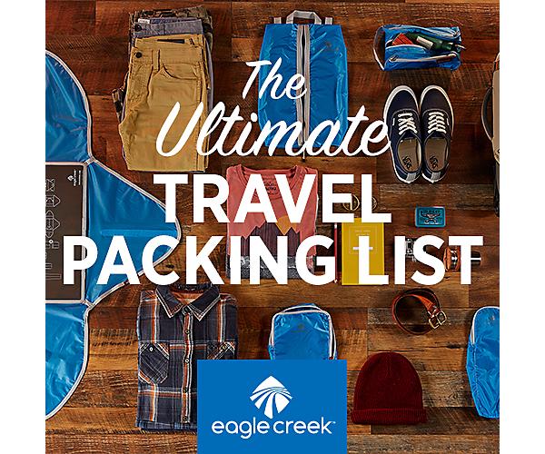 ec9fd3b8e3 The Ultimate Travel Packing Checklist   Eagle Creek