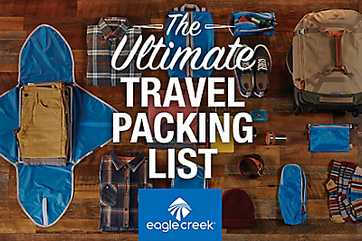 The Ultimate Travel Packing Checklist Eagle Creek